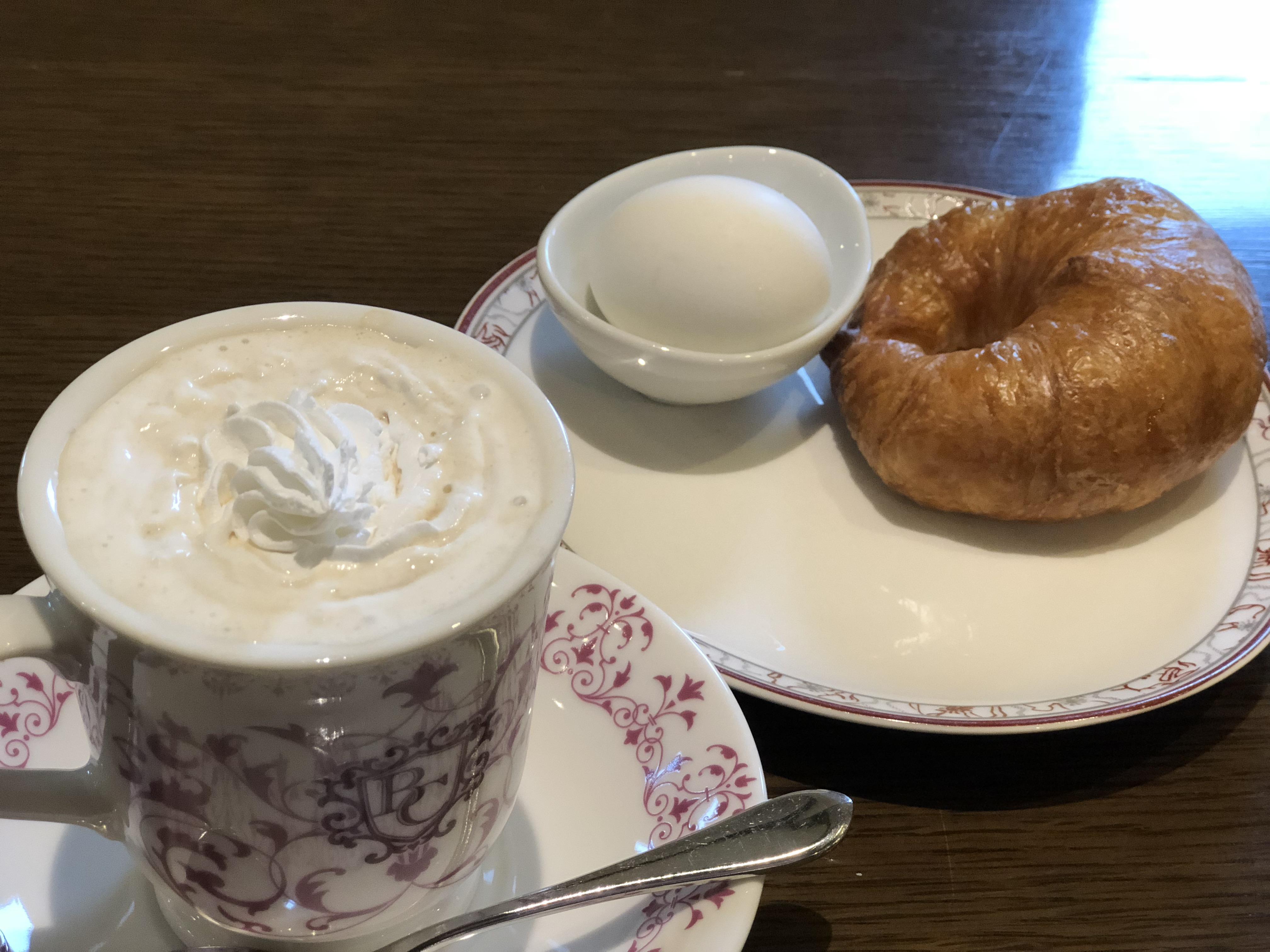 岐阜県大垣市おすすめカフェ ビリオン珈琲のシンプルモーニング