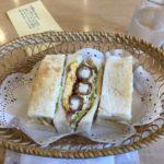 愛知県名古屋市のおすすめカフェ 念願のエビフライのサンドイッチ~間違いないおいしさ~