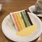 岐阜県大垣市のおすすめカフェ オムライスが美味しい~鳥骨鶏の卵のレインボーケーキもあるよ~