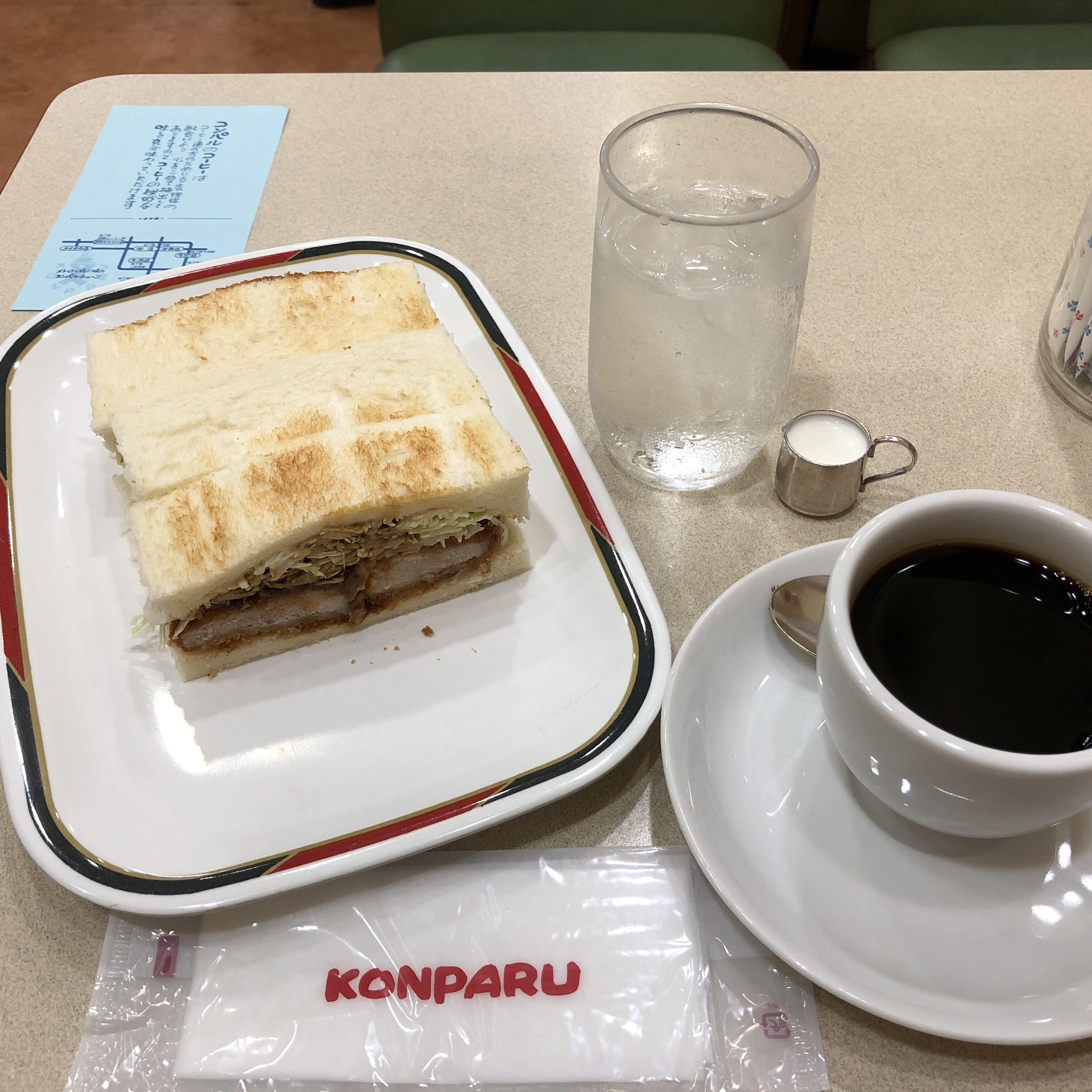 愛知県名古屋市のおすすめランチ エビフライサンドが有名だけどカツサンドも絶品なコンパル