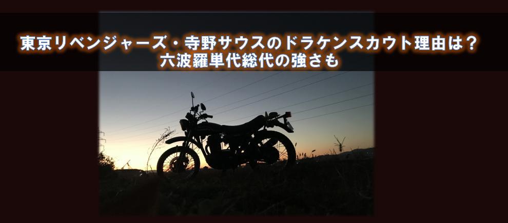 東京リベンジャーズ・寺野サウスのドラケンスカウト理由は?六波羅単代総代の強さも